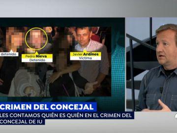 """La mujer del asesino de Javier Ardines comenzó a sospechar de su marido """"desde el minuto uno"""""""