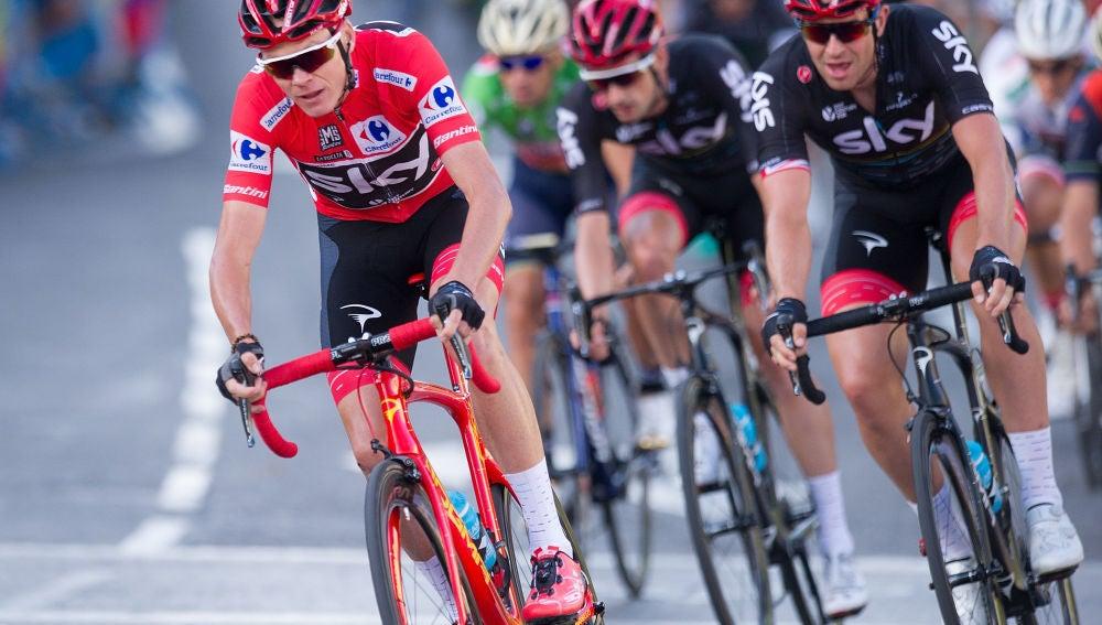 Froome en la Vuelta Ciclista España