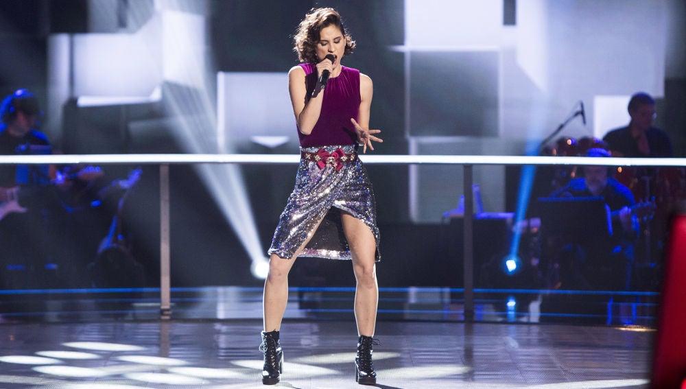 Vídeo Actuación Teresa Ferrer en los Asaltos de 'La Voz'