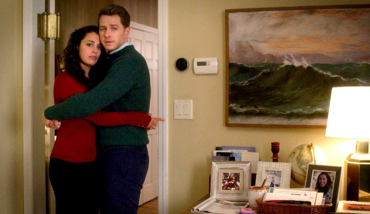 Grace revela a Ben que está embarazada... ¿de él o de Danny?