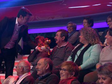 Vídeo: El doble de Revilla se cuela en '¡Ahora Caigo!'