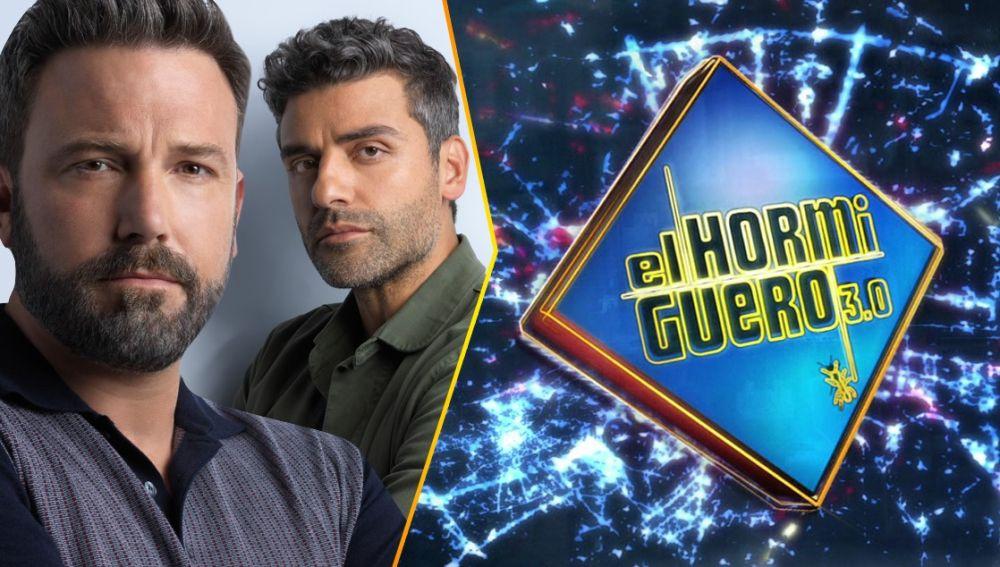 Ben Affleck y Oscar Isaac visitan 'El Hormiguero 3.0'