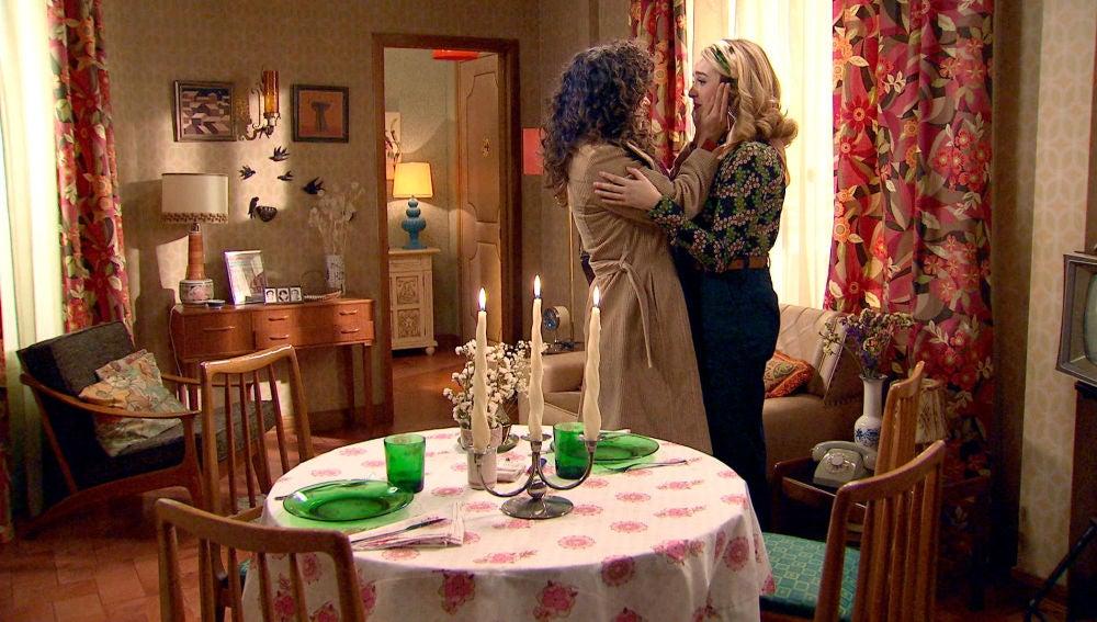 La romántica sorpresa de Luisita para ganarse el perdón de Amelia