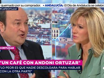 """Andoni Ortuzar: """"Sería injusto decir que Puigdemont huyó para evitar la cárcel"""""""