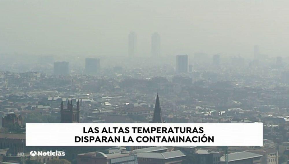 Las altas temperaturas y la contaminación disparan las alergias