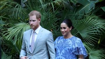 El príncipe Harry y Meghan Markle en Marruecos