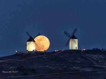 La Luna llena de febrero fue una Superluna que no defraudó