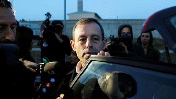 Sandro Rosell sale de prisión