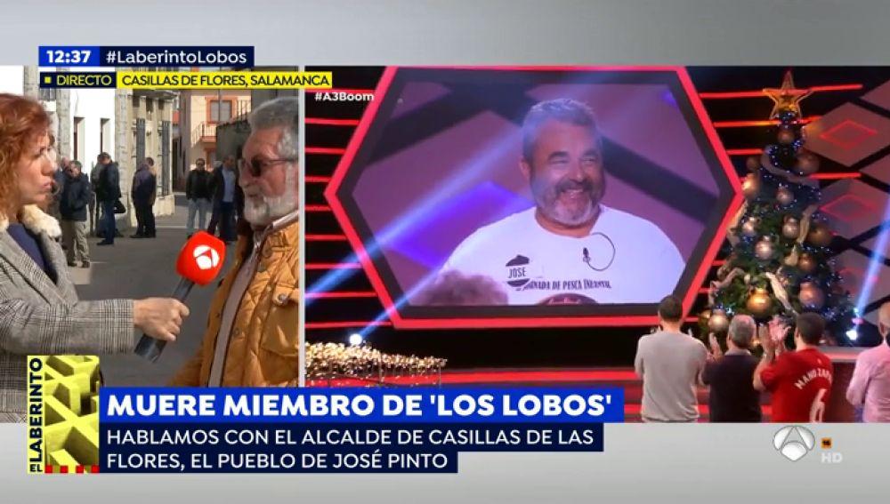 Un amigo del concursante de 'Boom' José Pinto de 'Los Lobos'