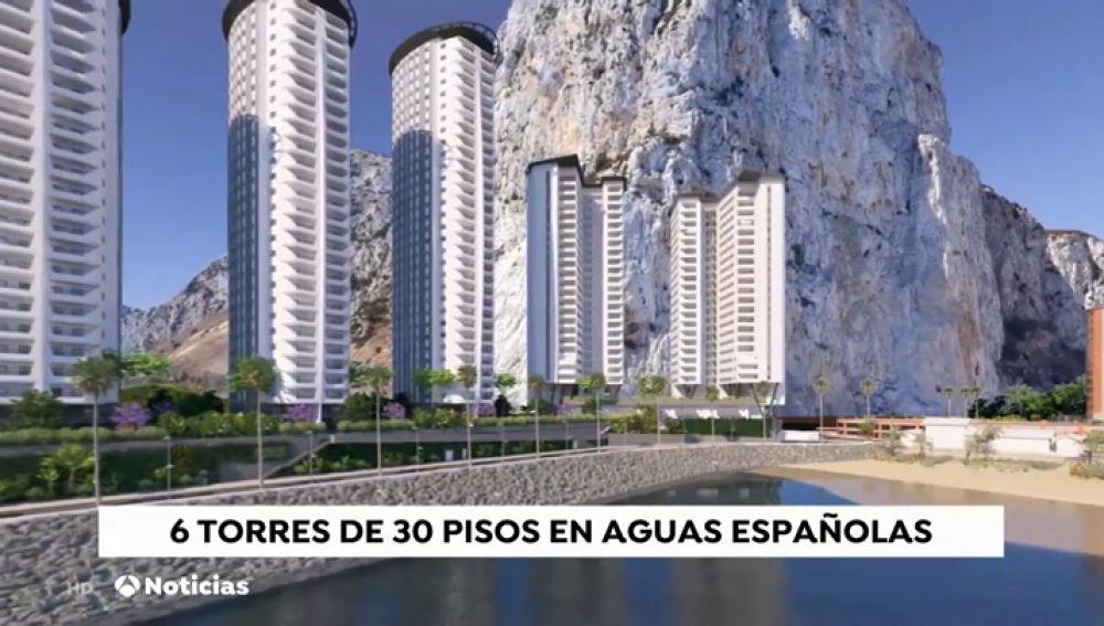 REEMPLAZO España presenta una queja a Reino Unido por un proyecto urbanístico en Gibraltar