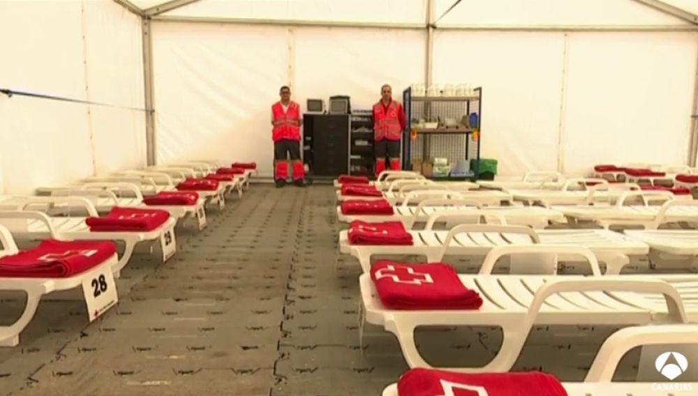 1.500 efectivos en el hospital de campaña del carnaval