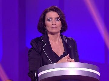 La profesión de Lourdes deja muerta a Silvia Abril, nunca mejor dicho