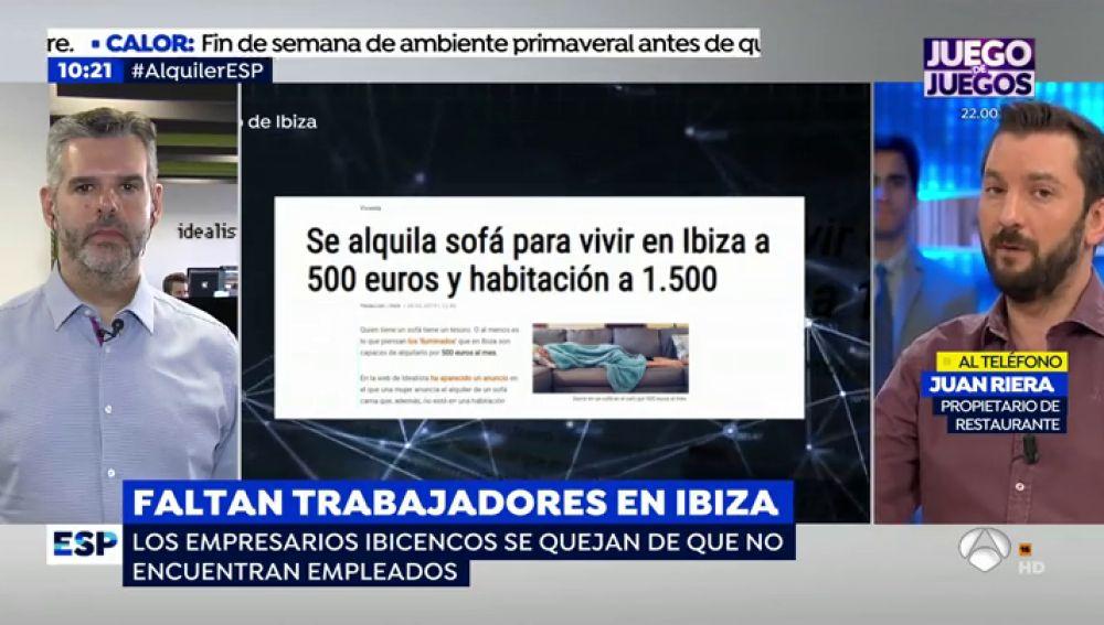 Crisis inmobiliaria en Ibiza.