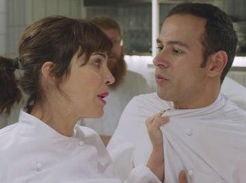 Gotzone, histérica, de parto en la quinta temporada de 'Allí abajo'