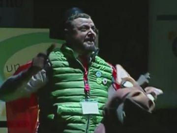 Un imitador de Santiago Abascal en una chirigota