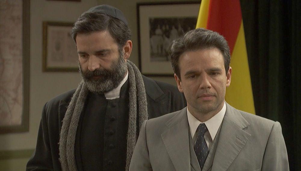 La acusación con la que Carmelo y Berengario se niegan a colaborar