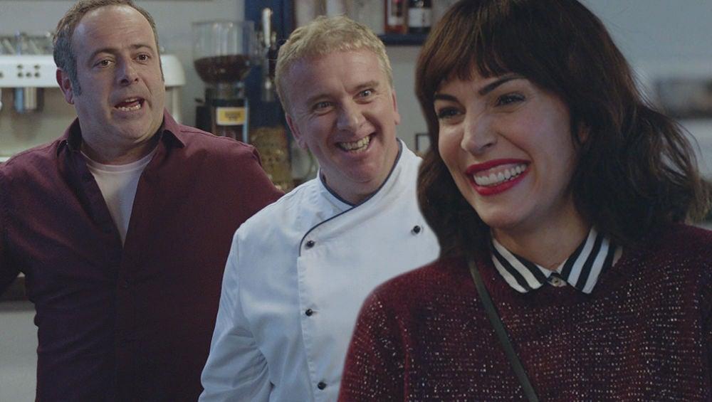 Gotzone vuelve de Londres con una gran 'sorpresa' para Iñaki