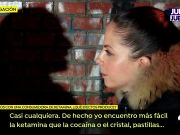 Sonia cuenta cómo es su vida como consumidora de cocaína