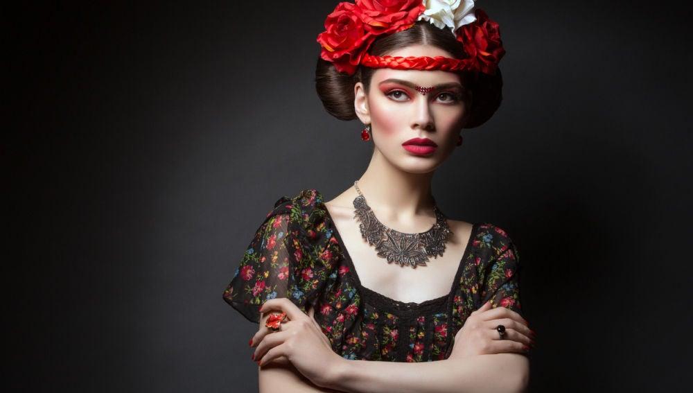 Estética a lo Frida Kahlo