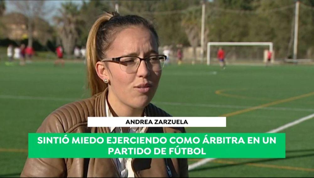 """El terrible relato de la árbitra Andrea Zarzuela: """"Me mandaron a la cocina, a fregar... miles de veces"""""""
