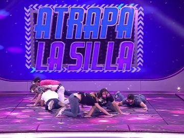 Los concursantes de 'Juego de juegos' por los suelos en 'Atrapa la silla'