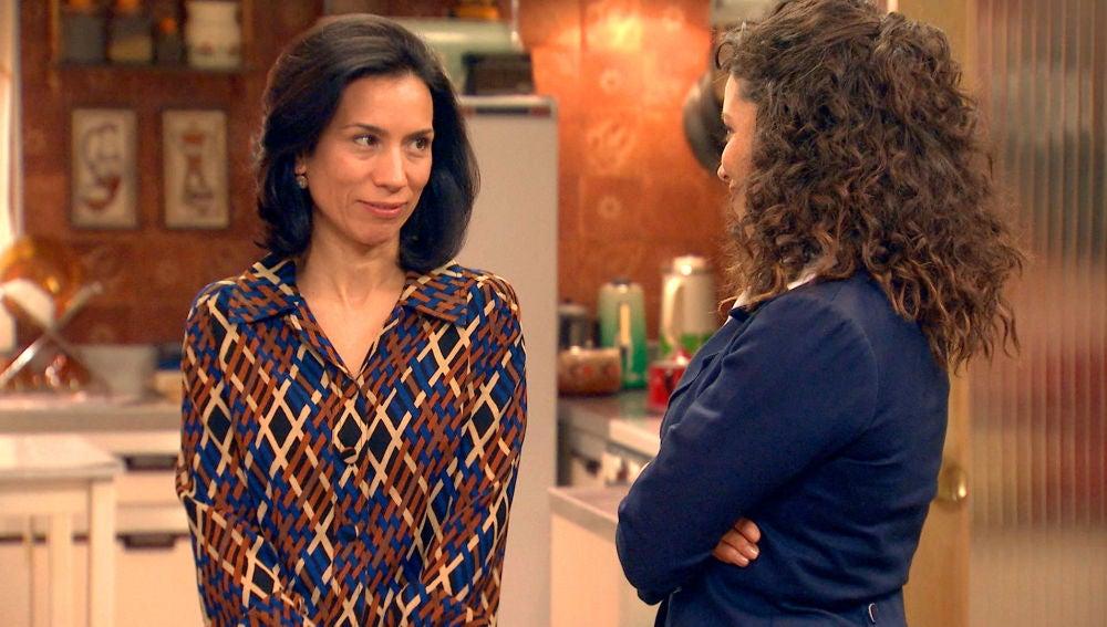 """Manolita a Amelia: """"Te estamos muy agradecidos, Luisita ha tenido mucha suerte contigo"""""""