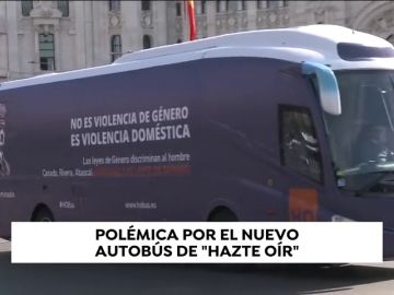 Polémica por el nuevo autobús de HazteOir