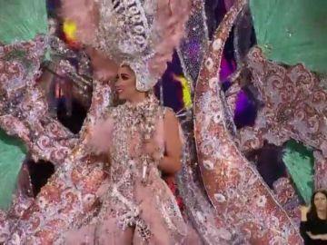 Todo preparado para coronar a la Reina del Carnaval
