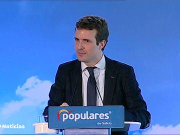"""Casado carga contra Pedro Sánchez por """"gobernar a golpe de decreto y manipulación"""""""