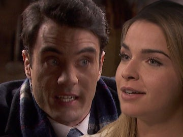 Álvaro desvelará a una sorprendida Antolina el macabro plan por el que quiere casarse con Elsa