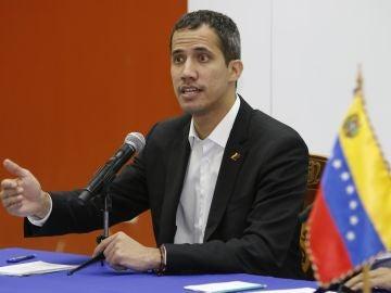 El líder de la Asamblea Nacional venezolana, Juan Guaidó
