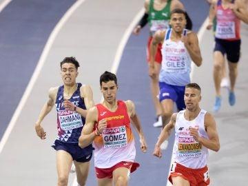 Jesús Gómez, en el Europeo de atletismo