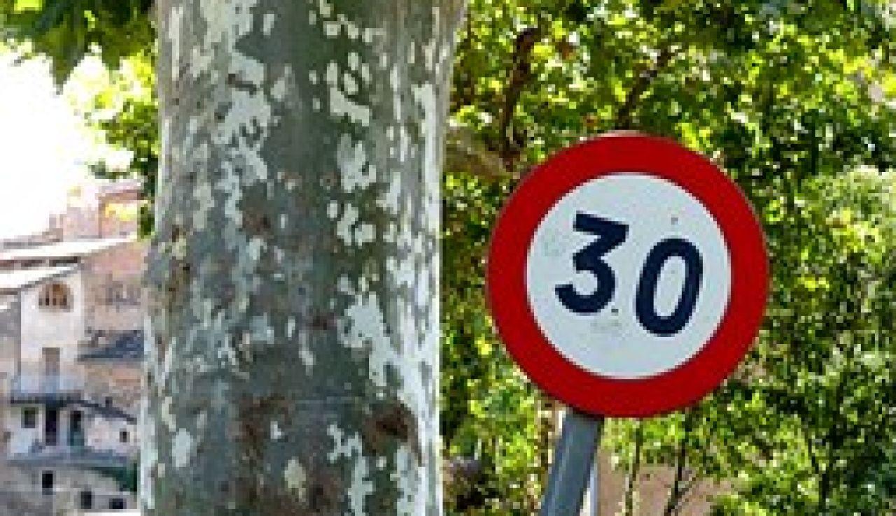 Señal de tráfico 30 km/h