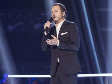 VÍDEO-LA VOZ:Ángel Cortés canta 'Torna a surriento' en los Asaltos de 'La Voz'