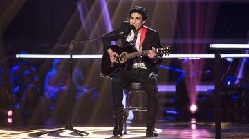 VÍDEO:Andrés Iwasaki canta 'Ojalá' en los Asaltos de 'La Voz'