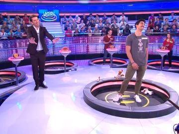 La divertida ronda de chistes en '¡Ahora Caigo!' entre Juanjete y Arturo Valls