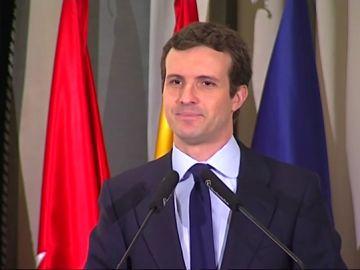 Pablo Casado reclama un pacto de Estado para acabar con la brecha salarial entre hombres y mujeres