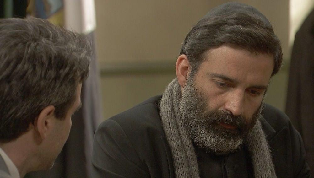 """Carmelo, a Don Berengario: """"Le aseguro que saldremos de esta"""""""