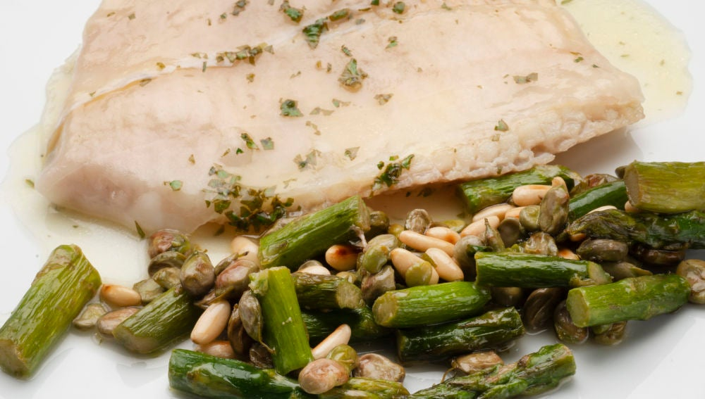 Recetas de esparragos verdes al horno