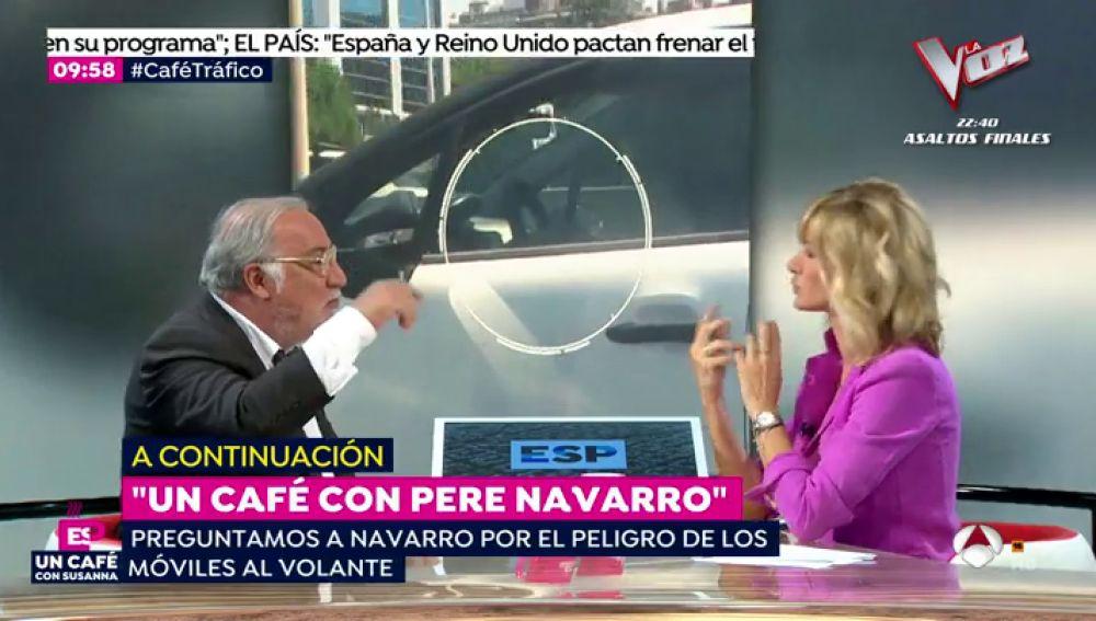 Un café con Pere Navarro