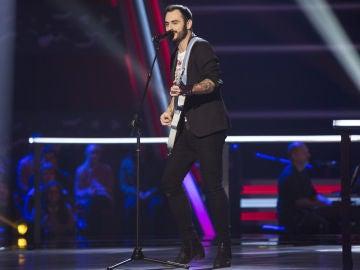 VÍDEO-LA VOZ:Rosco canta 'Crazy little thing called love' en los Asaltos de 'La Voz'