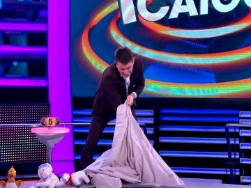La desesperación de Arturo Valls en '¡Ahora Caigo!'