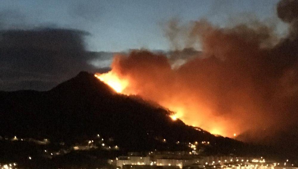 Incendio de Muskiz