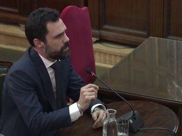 """Torrent ante el tribunal del procés: """"Tengan presente que volveremos a votar"""""""