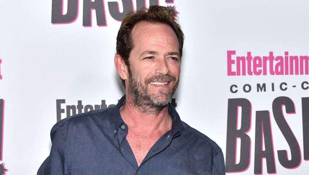 El actor Luke Perry
