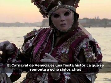 Máscaras, historia y cultura en el espectacular Carnaval de Venecia