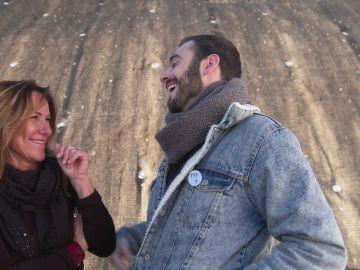 Jenny Rospo confiesa que tiene mucho feeling con su compañero Rosco