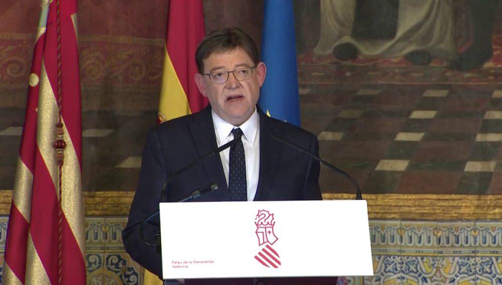 REEMPLAZO Ximo Puig adelanta las autonómicas en la Comunidad Valenciana para el 28A