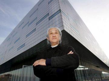 El arquitecto japonés Arata Isazaki