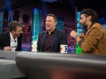 El divertido momento de Ben Affleck con la traductora en 'El Hormiguero 3.0'